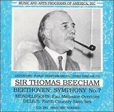 Beecham Conducts Beethoven, Mendelssohn and Delius, New Music