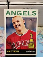 Mike Trout 2013 Topps Heritage Rookie Baseball Card Angels SP #430 GEM MT💎💎