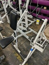 Hammer Strength Plate-Loaded Iso-Lateral Seated Row Gym Rowing Exercise Machine
