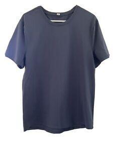 LULULEMON Men's Short Sleeve Performance Shirt L Dark Slate