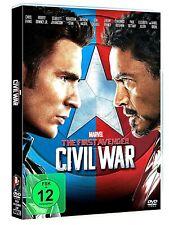 The First Avenger Civil War - Captain America 3 ( DVD ) NEU