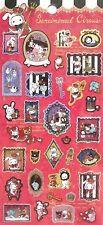 San-X Secret Anniversary Sentimental Circus Sticker Sheet (20601)~Kawaii!