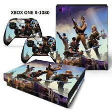Xbox One X Protective Sticker Set Console & Controllers - 1080