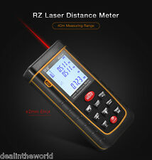 RZ A40 MANUALI DIGITALE LCD Laser Distanza Metro 0.05 TO 40M WITH bolle Livella