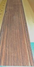 "Macassar Ebony wood veneer 3"" x 125"" raw no backing 1/42"" thickness ""A"" grade"