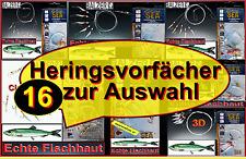 Balzer 16 Typen Heringsvorfach Heringspaternoster Circle Echte Fischhaut Fluo