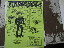 Feisty Cadavers-Falcon-Detroit Punk Rock/New Wave-1994