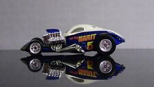 HOT WHEELS ¼ MILE COUPE WHITE & BLUE LIMITED EDITION 1/64 SCALE DIE CAST