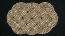 NAUTICAL ROPE DOOR MAT/BOAT CHAFING MAT - MADE IN USA