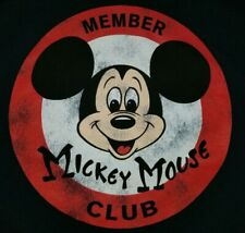 XXL Mickey Mouse Club Member Tank Top T-shirt Disney Punk Rock Retro