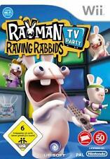 Nintendo Wii +Wii U Rayman Raving Rabbids TV PARTY * Top Zustand