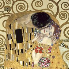 "Gustav Klimt, ""The Kiss"",  giclee open edition print"