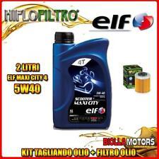 KIT TAGLIANDO 2LT OLIO ELF MAXI CITY 5W40 KTM 690 Enduro R 1st Oil Filter 690CC