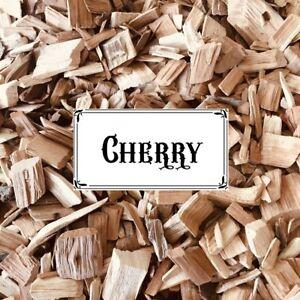 BBQ SMOKING WOOD - Cherry Wood Chips 1/2kg Bag  - FREE POST!