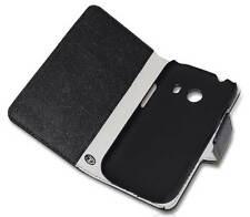 Handy Tasche Case Etui book für Samsung Galaxy Ace 4 Hülle Schutzhülle black