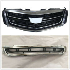 Radiator Front Bumper Upper Lower Grille Vent Grid For Cadillac XTS 2013-17 amis
