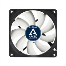 Arctic Cooling F9 Silent 92mm 90mm Case Fan 1000 RPM, 21.2 CFM Airflow