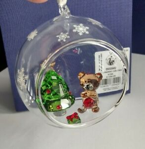 Swarovski Weihnachtskugel Weihnachtsszene Ball Ornament Christmas Szene 5533942