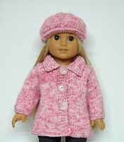 OUR GENERATION AMERICAN GIRL PINK COAT &HAT CLOTHES FOR 18INCH  DOLL