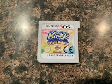 Kirby Triple Deluxe For Nintendo 3DS cart only AUTHENTIC!