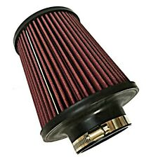 "Universal K&N air filter LARGE 76mm 3"" neck ID Performance RU4000 KN"