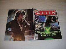 Vintage Alien Official Movie Poster Magazine #1 1979