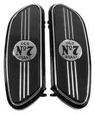 Jack Daniels - 106-280 - Harley Davidson Floorboards, Black