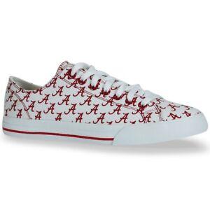 Alabama Crimson Tide NCAA Row One Team Apparel Men Women Kids Sneakers Shoes