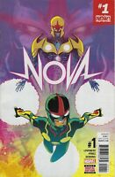 NOVA #1 (2017) MARVEL COMICS JEFF LOVENESS! GREAT RAMON PEREZ ART! VF/VF+