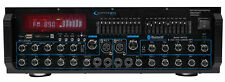 Technical Pro MM2000BT Powered Bluetooth Microphone Mixer Amplifier Amp SD, USB