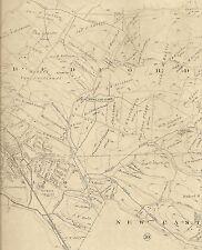 Bedford Armonk Kensico Reservoir Katonah  NY 1911 Maps Landowners Names Shown