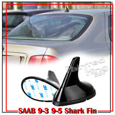 Painted Pure Black Shark Fin Dummy Decoration Antenna For SAAB Style All Vehicle