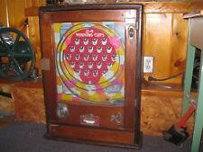 Allwin Antique Trade Stimulator Cigarette Vendor vintage slot machine