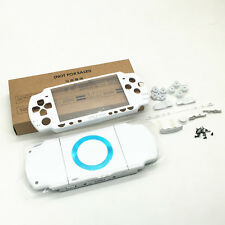 P White Replacement Full Housing Shell Faceplate Case Cover for PSP 2000 PSP2000