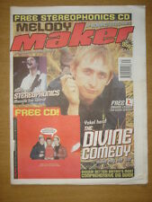 MELODY MAKER 1999 AUG 7 DIVINE COMEDY STEREOPHONICS