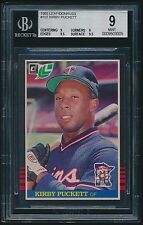 1985 Leaf/Donruss rookie #107 Kirby Puckett rc BGS 9 Mint (9/9/9.5/9.5)