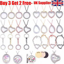 Floating/Keepsake Alloy Costume Necklaces & Pendants