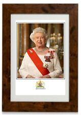 Portrait Picture Queen Elizabeth II Framed Print (B)