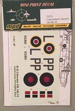 Mini Print Decal 1:72 Consolidated Liberator GR Mk.VI 72523