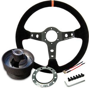 Turn One Rally Steering Wheel & Clio 182 Hub Kit