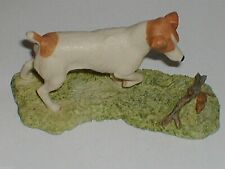 BORDER FINE ARTS, JACK  RUSSELL+ MOUSE,1983, Ayres. Original, Very Rare, Lovely.