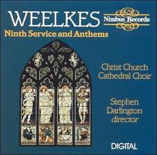 Weelkes Ninth Service & Anthems (CD) Christ Church Cathedral Choir + bonus CD!