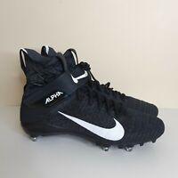 Nike Alpha Menace Elite 2 Football Cleats Mens SIze 13 14.5 [CI1530-001] Flyknit