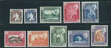 Aden 1954 État De Seiyun Hussein Long Ensemble (Scott 29-38) VF MNH / MH