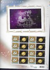 China Hong Kong 2012 Special S/S CAPRICORN 山羊座 Western Zodiac Signs stamp 星座