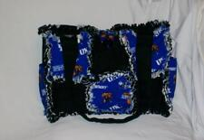Uk University Of Kentucky Ncaa Rag Quilted Diaper Bag Tote Purse Adorable