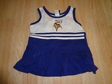 Infant/Baby Minnesota Vikings 18 Mo Nike Cheerleader Cheer Outfit