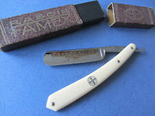OLD STRAIGHT RAZOR - COUPE CHOUX 5/8  FAMEUX FAMEX - SHAVE READY