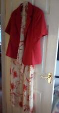 KLASS DRESS 12 & MATCHING JACKET 14 terracotta MOTHER OF BRIDE, INTERVIEW, WORK