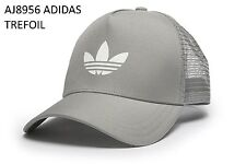 ADIDAS ORIGINALS TREFOIL GRAY CAP Hat AJ8956 size XL (OSFM)
